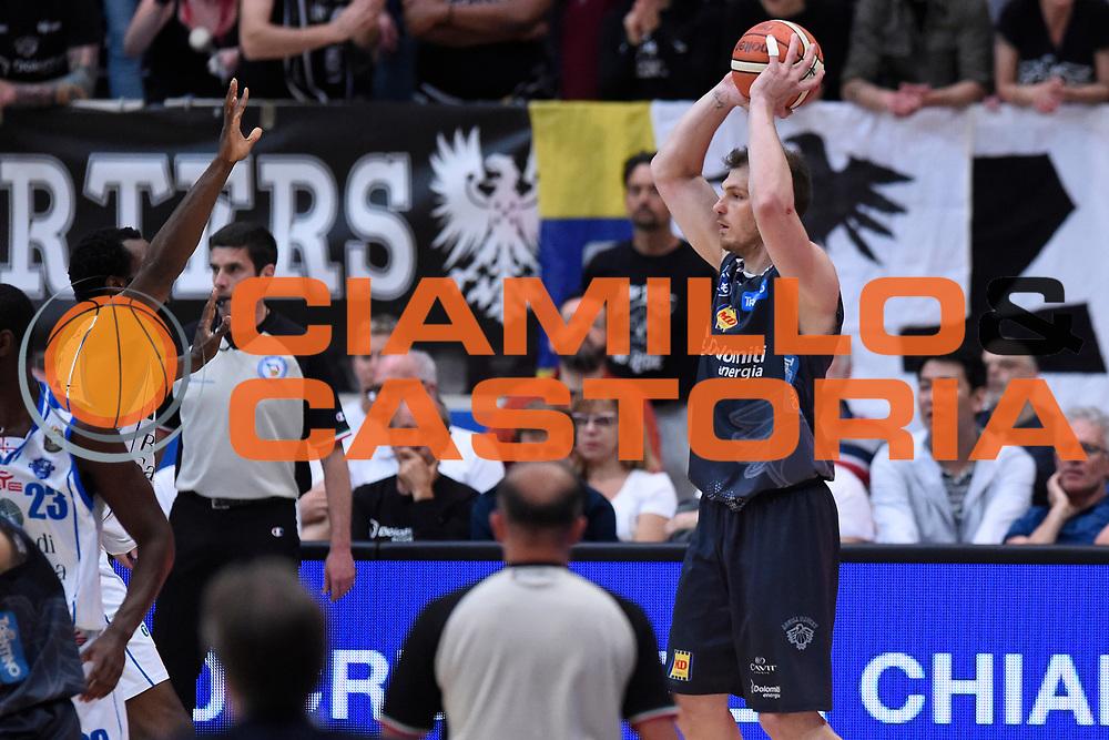 Lechthaler Luca<br /> Quarti di Finale Gara 2<br /> Legabasket A 2016,2017<br /> Trento 14,05,2017<br /> Foto Ciamillo-Castoria,GiulioCiamillo