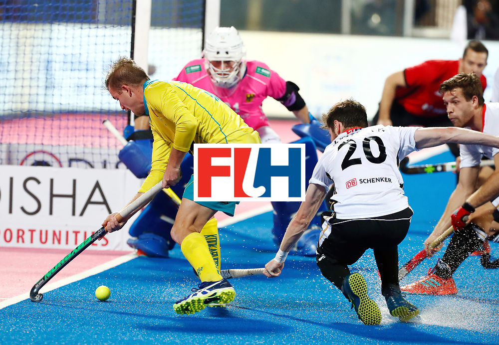 Odisha Men's Hockey World League Final Bhubaneswar 2017<br /> Match id: 20<br /> Australia v Germany<br /> Foto: Martin Zwicker (Ger) <br /> COPYRIGHT WORLDSPORTPICS KOEN SUYK