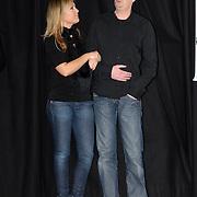 NLD/Amsterdam/20070301 - Perspresentatie So You wannabe a popstar, Tanja Jess en Jochem van Gelder