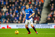 Jonathon Flanagan (#15) of Rangers FC during the Ladbrokes Scottish Premiership match between Rangers and Aberdeen at Ibrox, Glasgow, Scotland on 5 December 2018.