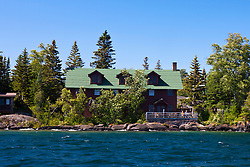 The Rock Harbor Lodge, Isle Royale National Park, Michigan, United States of America
