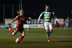 Millie Farrow of Bristol City Women crosses the ball - Mandatory by-line: Robbie Stephenson/JMP - Mobile: 07966 386802 - 23/03/2016 - FOOTBALL - Stoke Gifford Stadium - Bristol, England - Bristol City Women v Yeovil Town Ladies - FA Women's Super League 2
