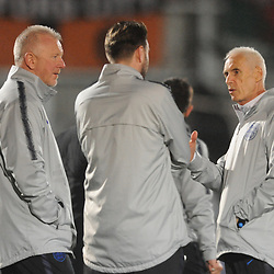 19/3/2019 - England manager Paul Fairclough (right) during the C International between England and Wales at the Peninsula Stadium, Salford.<br /> <br /> Pic: Mike Sheridan/County Times<br /> MS023-2019