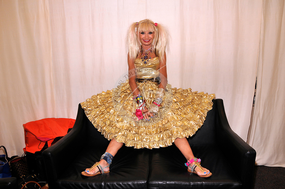Fashion icon Betsey Johnson. I had exactly one minute to set up and complete this shot. Yes, you read that correctly: ONE MINUTE. That's the way it works sometimes in Hollywood, unfortunately. Luckily, I was able to hyper-focus and get the job done. Betsey helped a lot by being a professional.