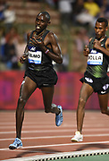 Paul Chelimo (USA) places sixth in the 5,000m in 12:57.55 in the 43nd Memorial Van Damme in an IAAF Diamond League meet at King Baudouin Stadium in Brussels, Belgium on Friday,August 31, 2018. (Jiro Mochizuki/Image of Sport)