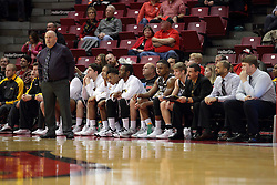 27 November 2015: Marty Bell.  Illinois State Redbirds host the Quincy Hawks at Redbird Arena in Normal Illinois (Photo by Alan Look)