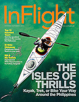 Cover of Philippines InFlight Travel magazine