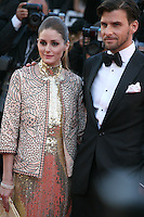 Olivia Palermo and Johannes Huebl at The Immigrant film gala screening at the Cannes Film Festival Friday 24th May May 2013