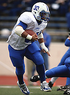 Kerrville Tivy vs. Lanier, 1 p.m. Saturday, 17 Nov 07, at Alamo Stadium: Tivy dominated the game scoring 42 points in the first half and knocking Lanier out of the playoffs 52-7.