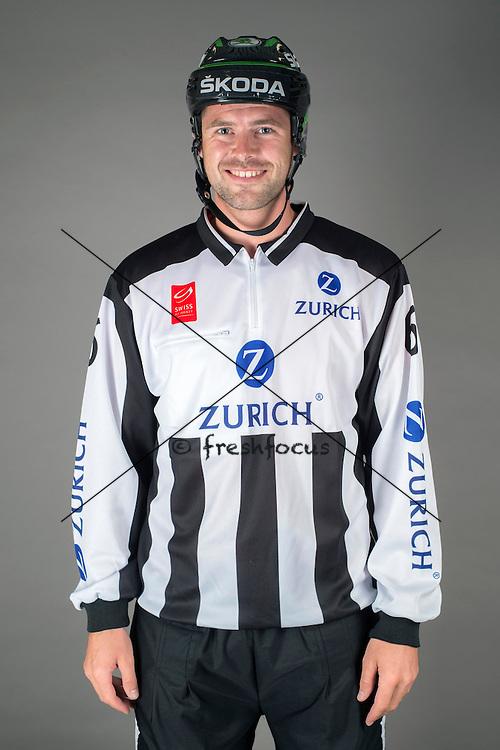 09.08.2015; Magglingen; Eishockey NLA - Schiedsrichter;<br /> Thomas Wolf <br /> (Andy Mueller/freshfocus)