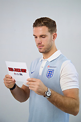 LIVERPOOL, ENGLAND - Wednesday, May 17, 2017: Liverpool and England's Jordan Henderson during a photoshoot for Vauxhall at the Devonshire House Hotel. (Pic by David Rawcliffe/Propaganda)