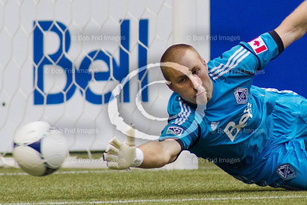 23 September 2012:   Action during a game between Vancouver Whitecaps FC and Colorado Rapids on Bell Pitch at BC Place Stadium in Vancouver, BC, Canada.  Final Score:  Vancouver 2  Colorado  2  ****(Photo by Bob Frid - Vancouver Whitecaps 2012 - All Rights Reserved)***
