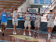 PORTO SAN GIORGIO<br /> GIUGNO 2003<br /> ALLENAMENTI NAZIONALE ITALIANA<br /> NELLA FOTO: TONOLLI, SANTAROSSA, MALAVENTURA, MIAN, RADULOVIC<br /> FOTO CIAMILLO