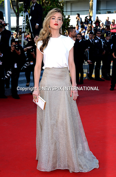 AMBER HEARD<br /> attends the &quot;Deux Jour, Une Nuit&quot; screening at the 67th Cannes Film Festival, Cannes<br /> Mandatory Credit Photo: &copy;NEWSPIX INTERNATIONAL<br /> <br /> **ALL FEES PAYABLE TO: &quot;NEWSPIX INTERNATIONAL&quot;**<br /> <br /> IMMEDIATE CONFIRMATION OF USAGE REQUIRED:<br /> Newspix International, 31 Chinnery Hill, Bishop's Stortford, ENGLAND CM23 3PS<br /> Tel:+441279 324672  ; Fax: +441279656877<br /> Mobile:  07775681153<br /> e-mail: info@newspixinternational.co.uk