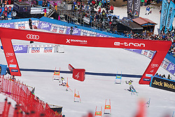 March 15, 2019 - Andorra - Tessa WORLEY and Mina Fuerst HOLTMANN during of the Alpine Team's race, Audi Fis Alpine Ski World Cup, Finals Round, on March 15, 2019 in Soldeu - El Tarter, Andorra (Credit Image: © AFP7 via ZUMA Wire)