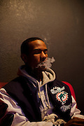 Producer Lex Luger, 19, at a studio in Virginia Beach, Virginia on Monday, January 10, 2011.
