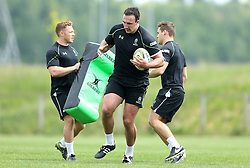 Will Spencer of Worcester Warriors - Mandatory by-line: Robbie Stephenson/JMP - 07/06/2016 - RUGBY - Worcester Warriors - Pre-season training session