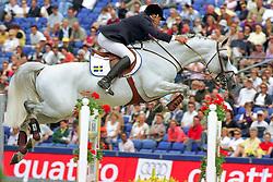Eriksson Peter, SWE, VDL Cardento<br /> European Championship Arnhem 2001<br /> © Dirk Caremans