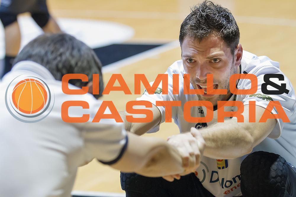 Filippo Rossi Baldi<br /> Pasta Reggia Caserta - Dolomiti Energia Trento<br /> Lega Basket Serie A 2016/2017<br /> Caserta 06/11/2016<br /> Foto Ciamillo-Castoria