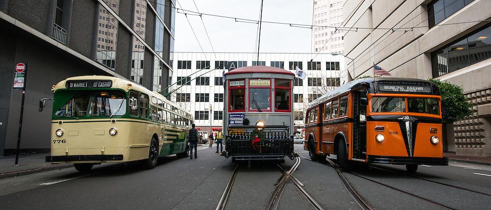 San Francisco's Muni Celebrates it's 100th Birthday | December 28, 1912 to 2012