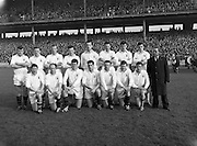 Football Railway Cup Final, .Ulster v. Leinster.Ulster.17.03.1962