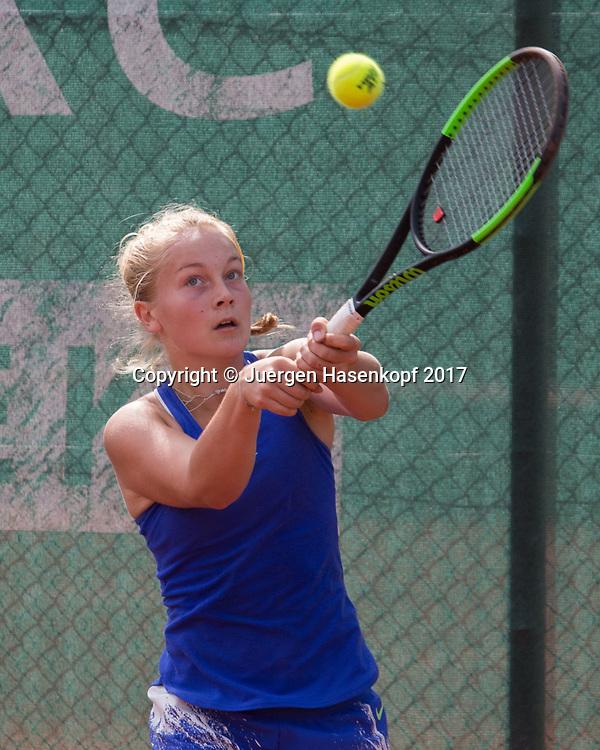 KIM JULIANE AUERSWALD(GER), Bavarian Junior Open 2017, Tennis Europe Junior Tour, GS14<br /> <br /> Tennis - Bavarian Junior Open 2017 - Tennis Europe Junior Tour -  SC Eching - Eching - Bayern - Germany  - 9 August 2017. <br /> &copy; Juergen Hasenkopf