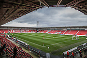 Keep moat Stadium during the The FA Cup third round match between Doncaster Rovers and Stoke City at the Keepmoat Stadium, Doncaster, England on 9 January 2016. Photo by Simon Davies.