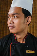 Chef Ke Ratana at Chanrey Tree restaurant, Siem Reap