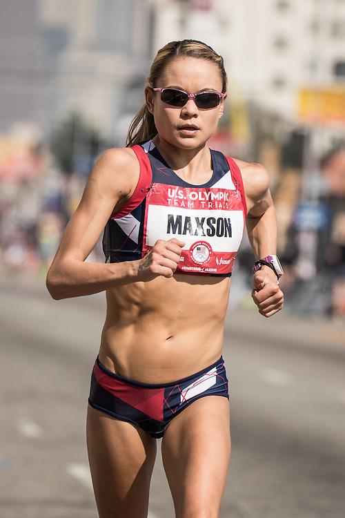 USA Olympic Team Trials Marathon 2016, Oiselle, Maxson