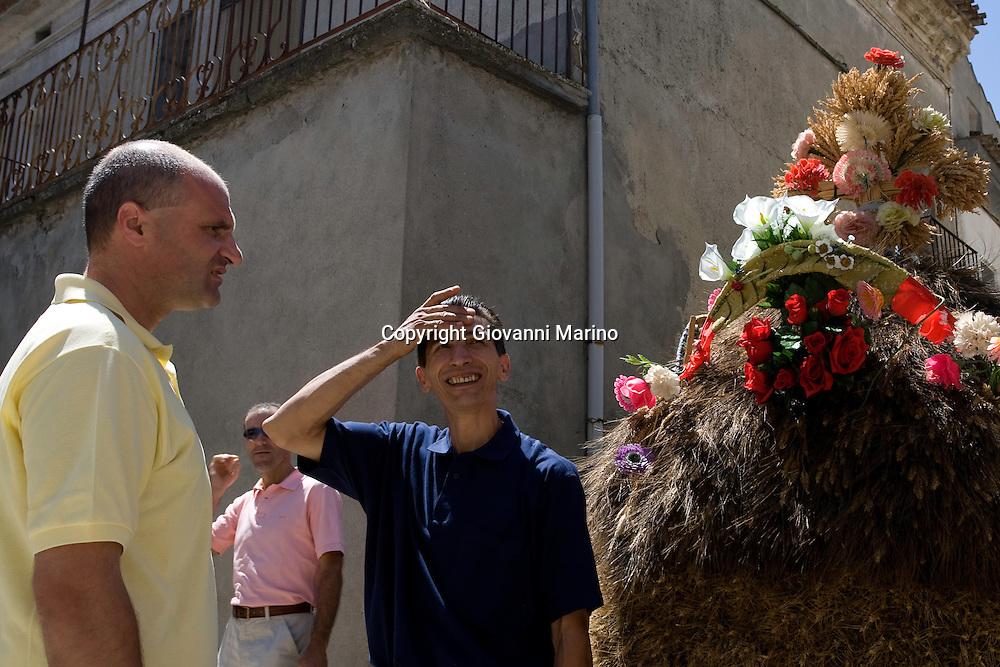 San Paolo Albanese (PZ) 16/08/2007 - Processione di San Rocco. San Paolo Albanese/Basilicata/Italy 16-08-2007 - Procession for San Rocco