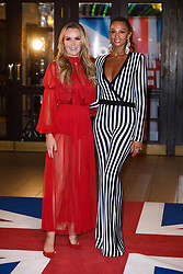 Judges Amanda Holden and Alesha Dixon attending the Britain's Got Talent auditions at the Blackpool Opera House, Blackpool. Picture date: Tuesday January 16th, 2018. Photo credit should read: Matt Crossick/ EMPICS Entertainment.