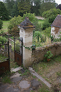 Old gates and walls of land in Montresor in the French Indre-et-Loire region.