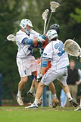 05 April 2008: North Carolina Tar Heels defenseman Jack Ryan (32) during a 11-12 OT loss to the Virginia Cavaliers on Fetzer Field in Chapel Hill, NC.