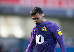 David Raya of Blackburn Rovers looks dejected at the final whistle - Mandatory by-line: Jack Phillips/JMP - 09/03/2019 - FOOTBALL - Ewood Park - Blackburn, England - Blackburn Rovers v Preston North End - English Football League Championship