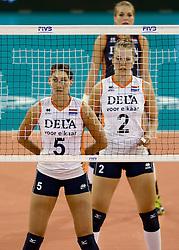 01-06-2014 NED:  Vriendschappelijk Nedeland - Belgie, Eindhoven<br /> Nederland wint met 3-2 van Belgie / Robin de Kruijf