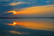 Gregoire Lake at sunrise<br /> Gregoire Lake Provincial Park<br /> Alberta<br /> Canada