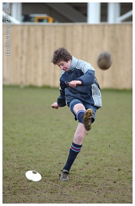 Premier Rugby Camp - Newcastle Falcons - Jonny Wilkinson Kicking Camp