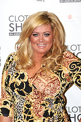 © Licensed to London News Pictures.  07/12/2012. BIRMINGHAM, UK. Reality TV star Gemma Collins (pictured) is seen during the opening photo call for the Clothes Show Live event being held in the NEC, Birmingham. The show opens today and runs until Tuesday. Photo credit :  Cliff Hide/LNP