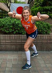 13-10-2018 JPN: World Championship Volleyball Women day 14, Nagoya<br /> Portraits Dutch Volleybal Team - Juliet Lohuis #7 of Netherlands