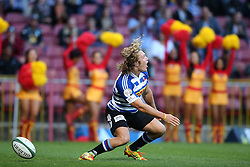 Werner Kok of Western Province celebrates after scoring Western Province second try during the Currie Cup Premier Division match between the DHL Western Province and the Sharks held at the DHL Newlands Rugby Stadium in Cape Town, South Africa on the 3rd September  2016<br /> <br /> Photo by: Shaun Roy / RealTime Images