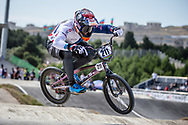 Men Elite #211 (EVANS Kyle) GBR the 2018 UCI BMX World Championships in Baku, Azerbaijan.