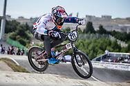 Men Elite #211 (EVANS Kyle) GBR the 2018 UCI BMX World Championships in Baku, Azerbaijan.