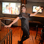 PORTLAND, Maine,  -- 2/28/16 --  Swifty's Oscar Party 2106 at Rivalries. Photo © Roger S. Duncan 2016. File owner may make prints as needed.