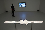"dOCUMENTA (13) in Kassel, Germany..Neue Galerie..Hassan Khan. ""The Knot"" and ""Blind Ambition"" (video), 2012."