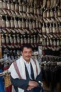 Shop selling Jambiya's. the traditional Yemeni man's knife.