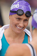 Emma MOFFATT 01:01:35. Urban Geelong ITU Sprint Triathlon Premium Oceania Cup. 2012 Geelong Multi Sport Festival. Eastern Beach, Geelong, Victoria, Australia. 12/02/2012. Photo By Lucas Wroe