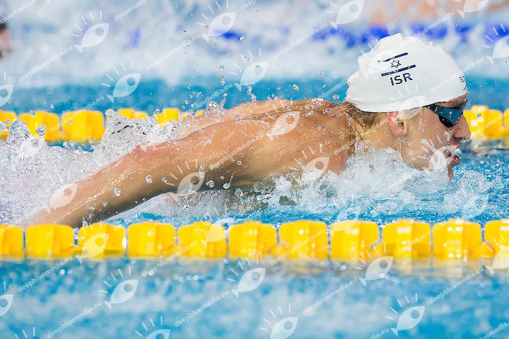 Shami Alon ISR<br /> 100 Butterfly Men Heats <br /> LEN 43rd Arena European Junior Swimming Championships<br /> Hodmezovasarhely, Hungary <br /> Day04 09-07-2016<br /> Photo Andrea Masini/Deepbluemedia/Insidefoto