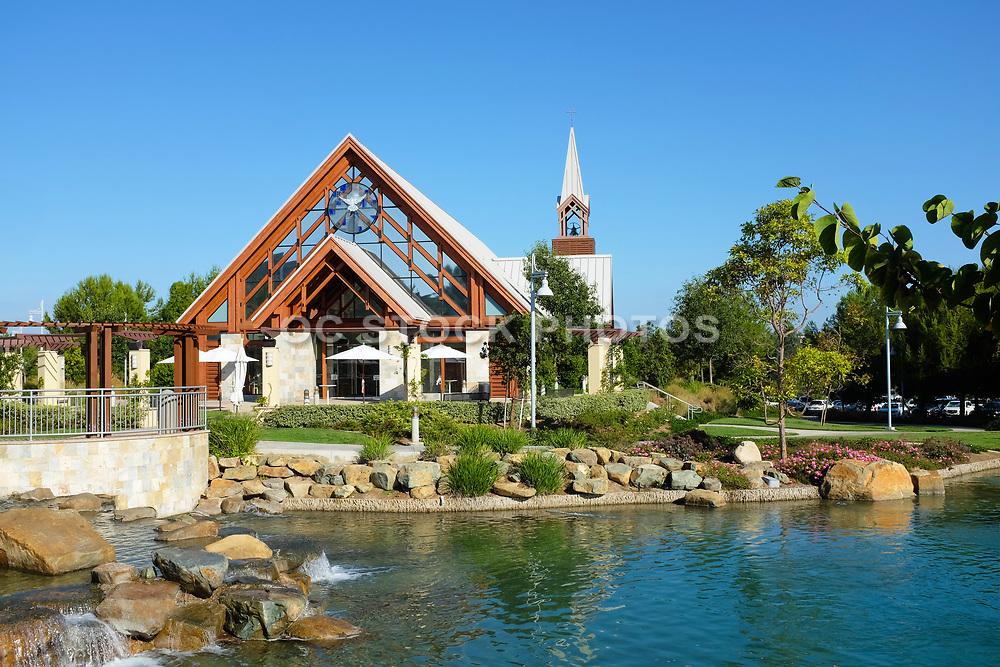 Man Made Lake at Mariners Church