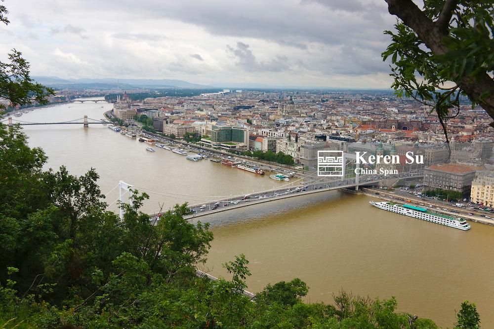 Bridge on the Danube River