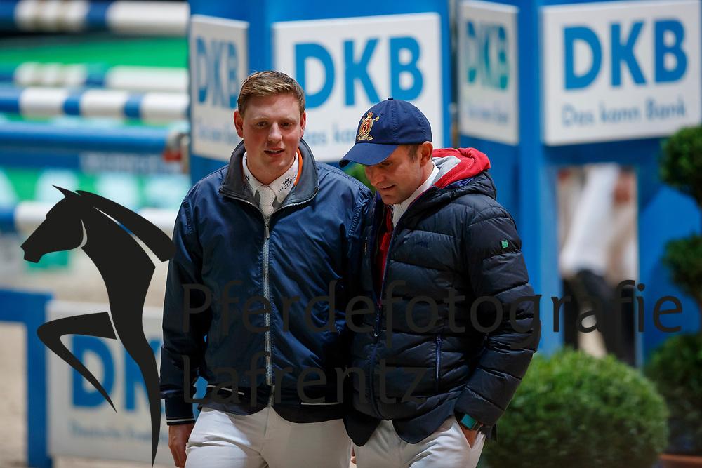 Wernke, Jan (GER)<br /> Hess, Christian (GER) <br /> München - Munich Indoors 2017<br /> © www.sportfotos-lafrentz.de/Stefan Lafrentz